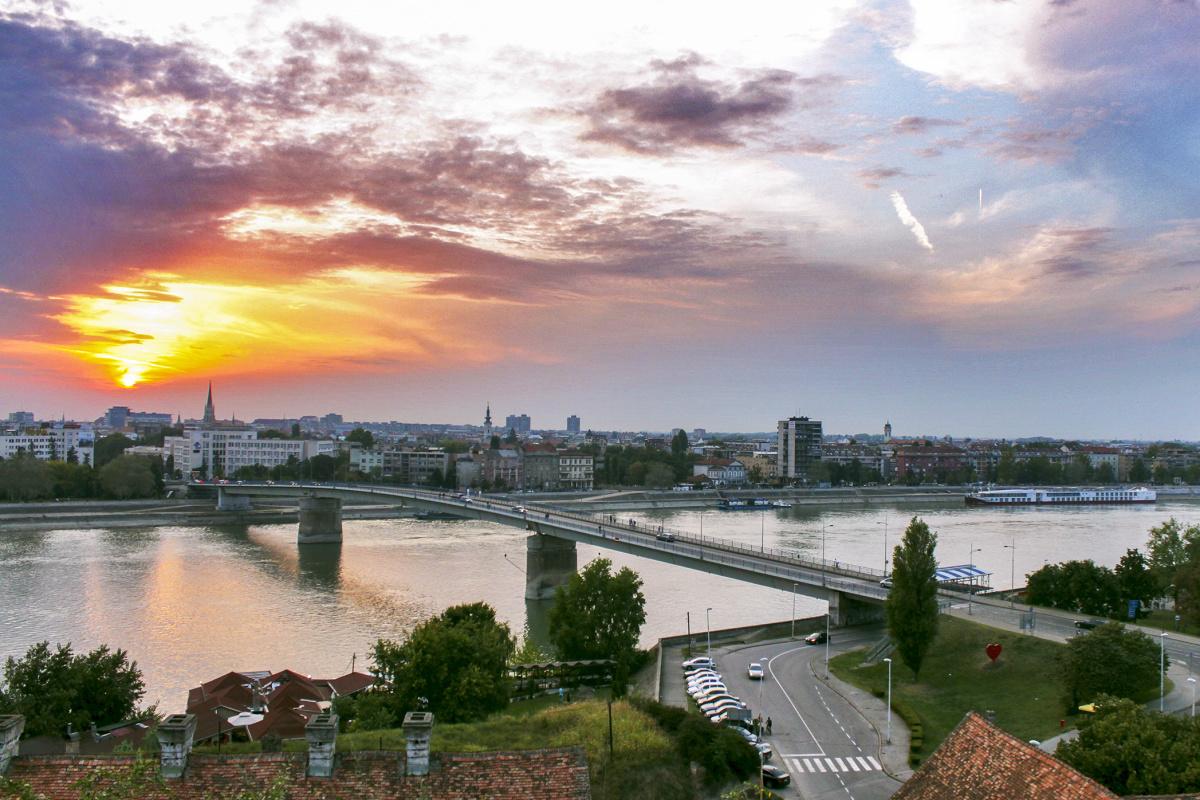 The Danube and Novi Sad
