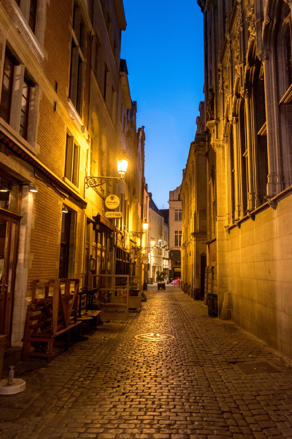 Empty Brussels