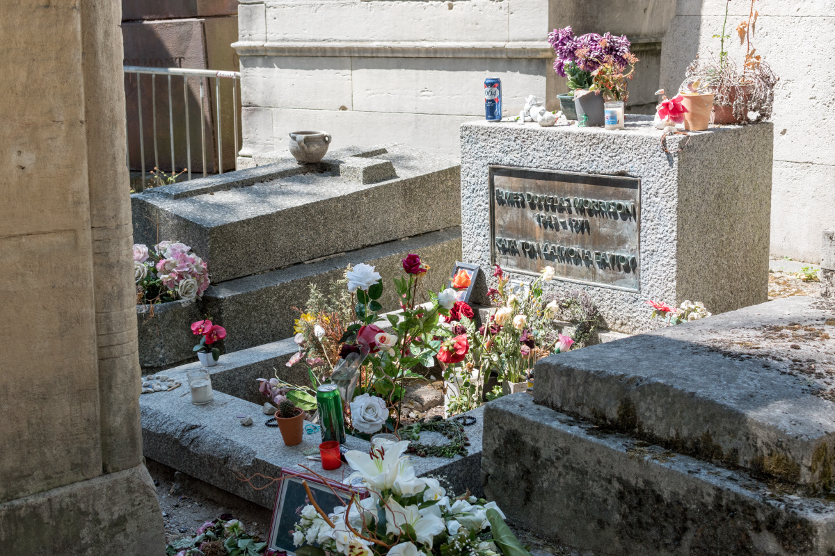 Jim Morrison's Sad Tomb