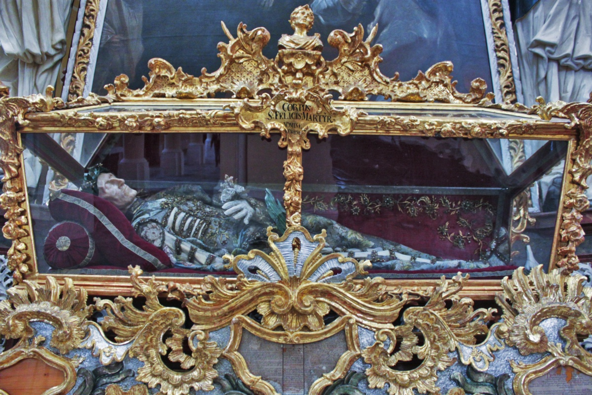 Remains of a Saint