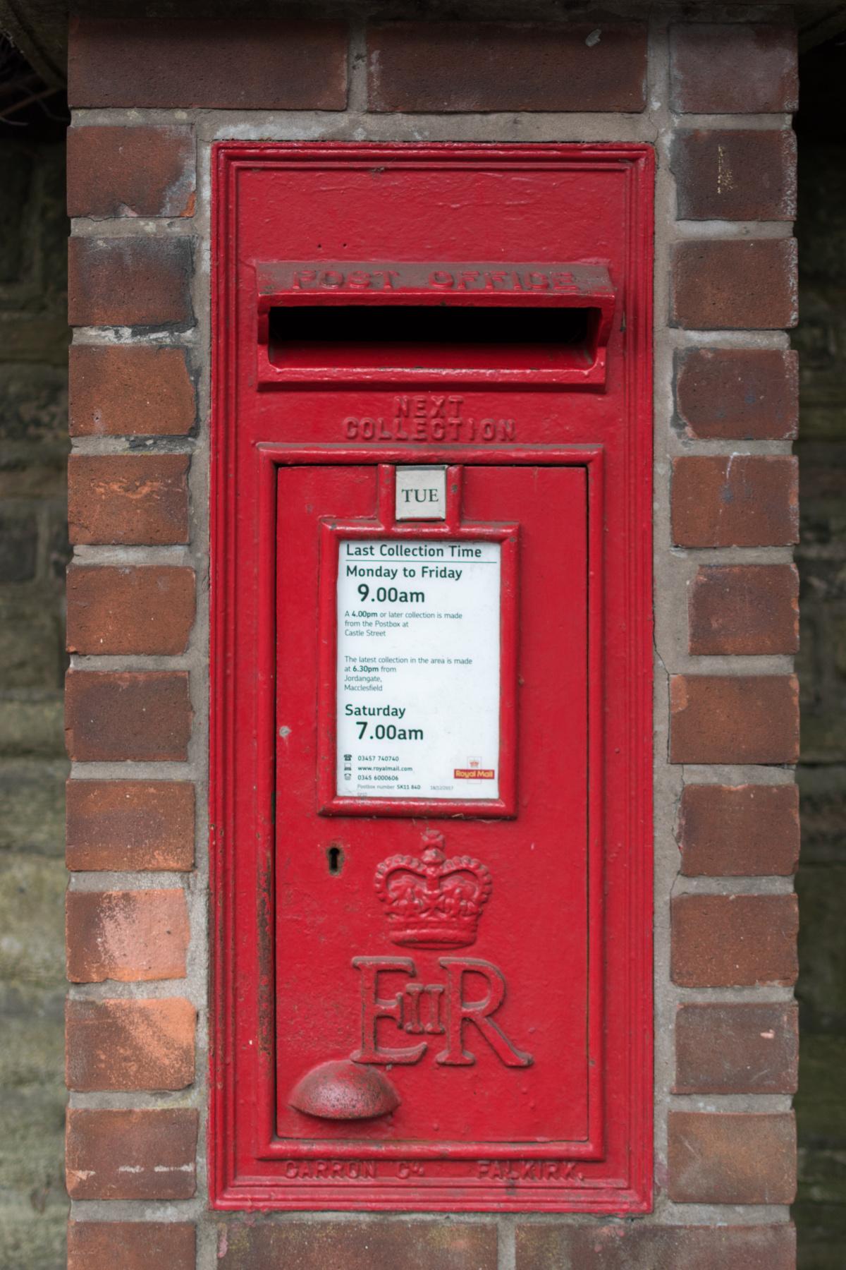 Macclesfield Postbox