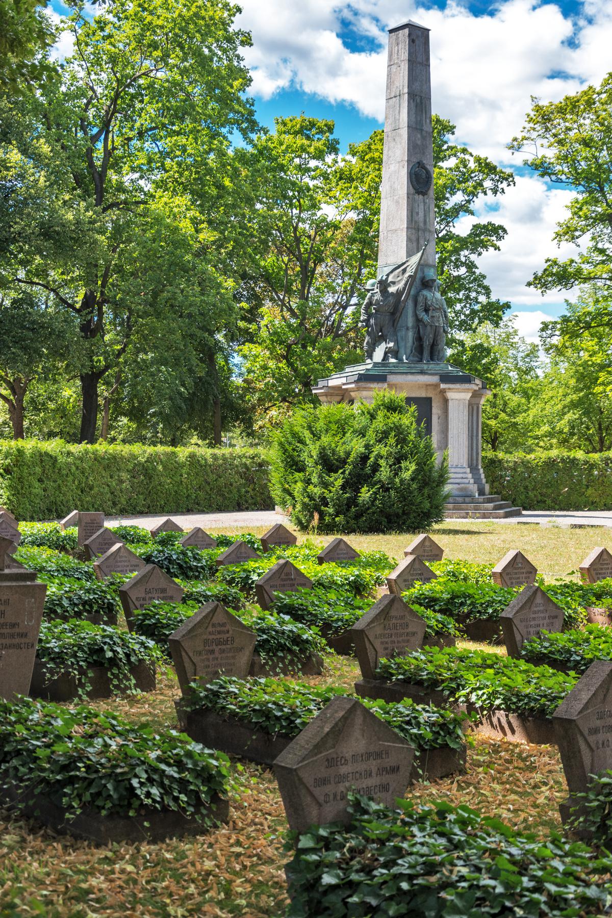 Soviet Cemetery - Potsdam