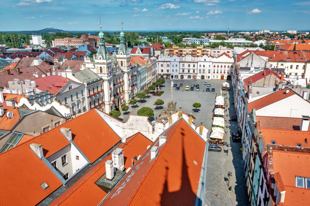 Pardubice from the Tower