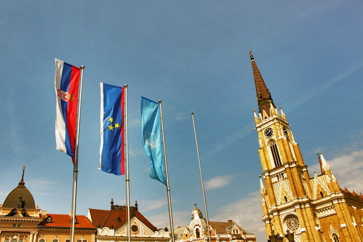Flags of Serbia