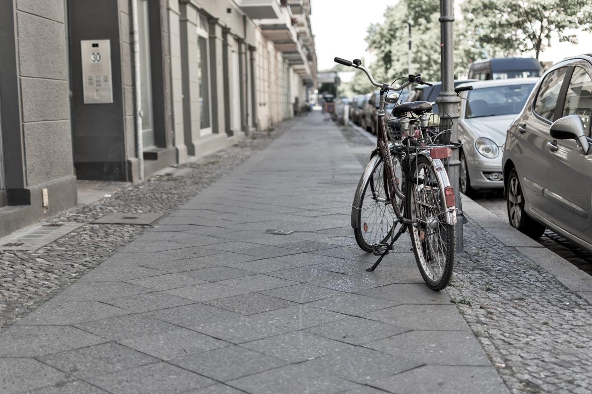 Bike on Oudenarder Straße