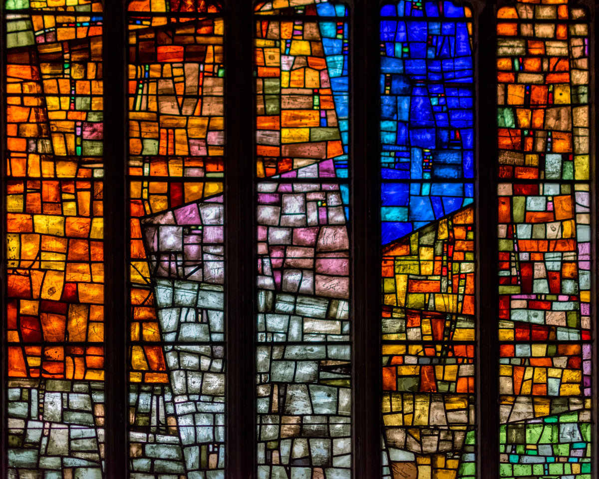 Stained Glass in the Manchester Cathedral