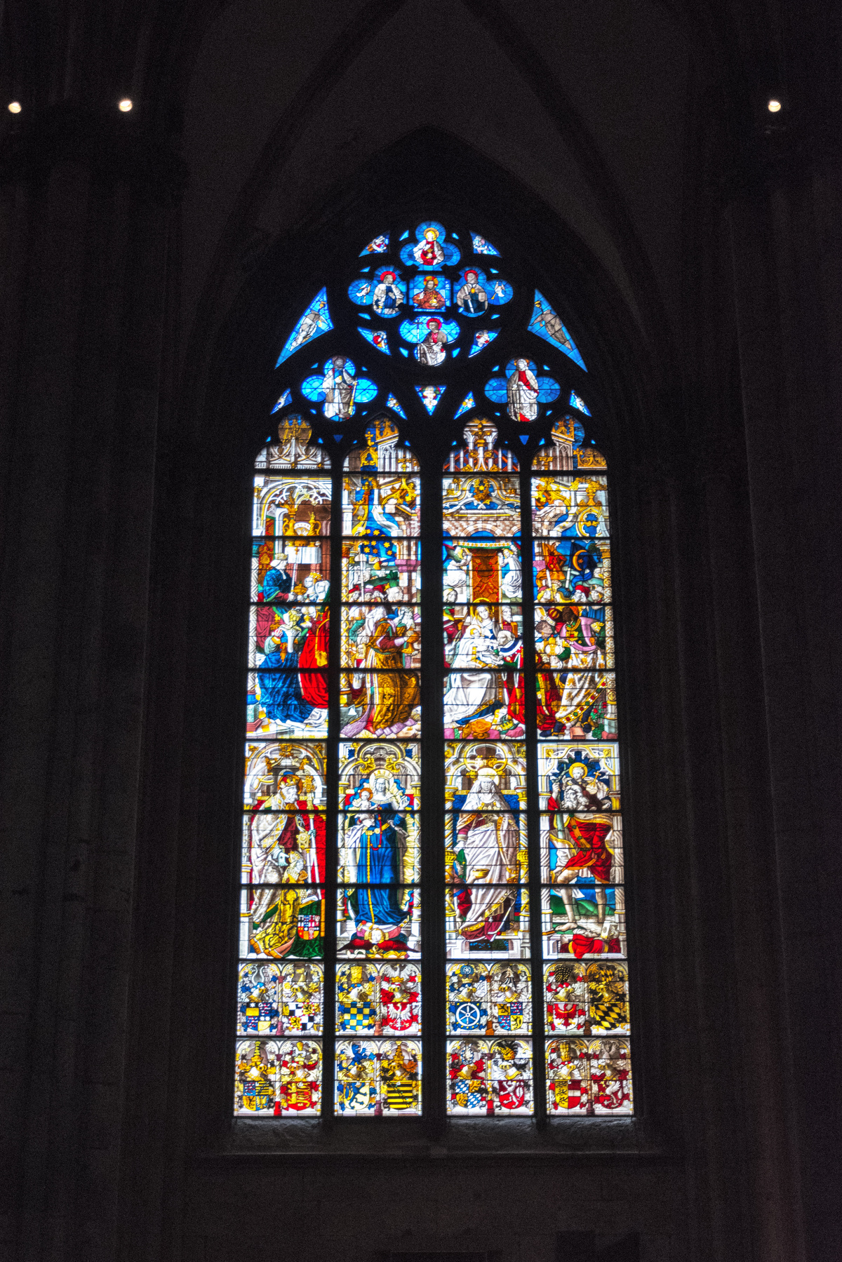 Stained Glass in the Kölner Dom