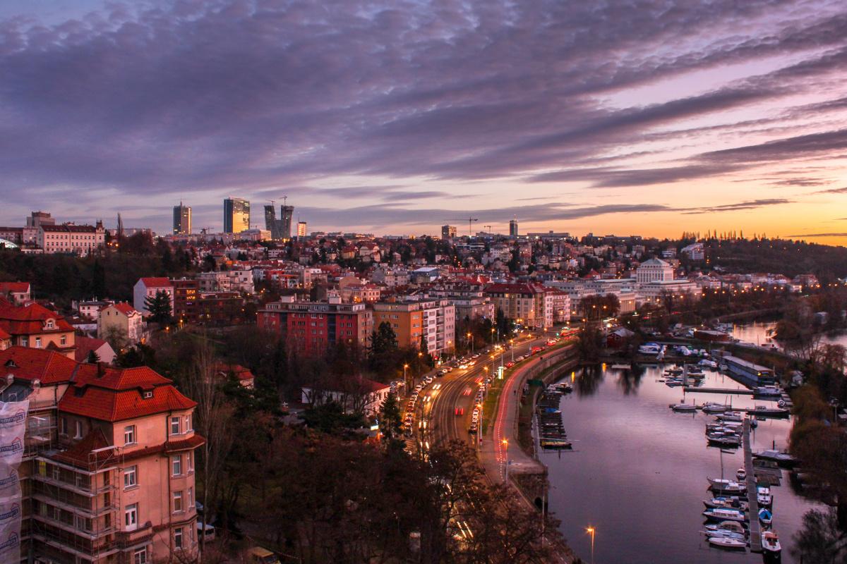 The South of Prague