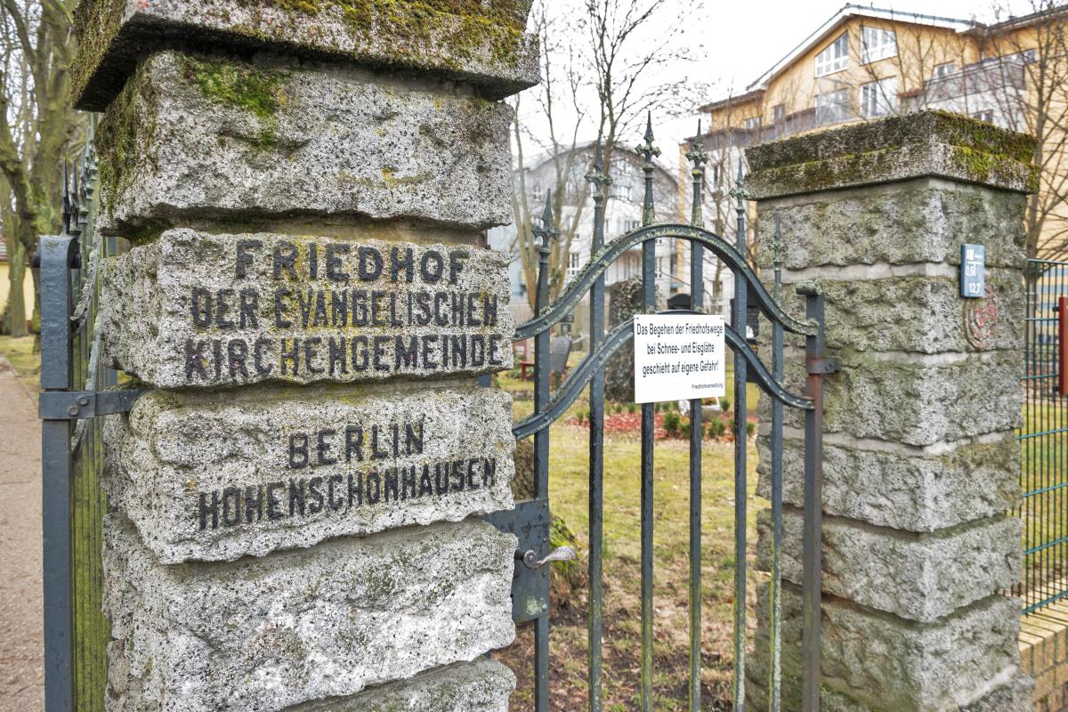 Friedhof der Evangelischen Kirchengemeinde