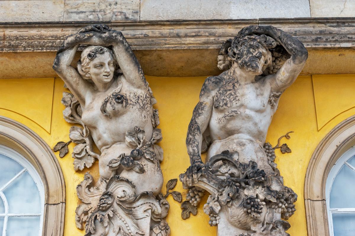 Sans Souci Statues