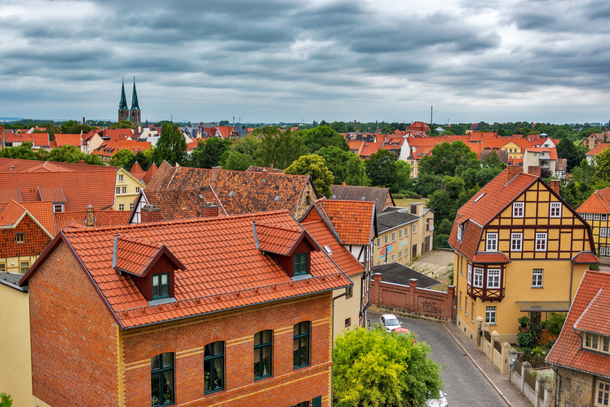 Quedlinburg from the Castle