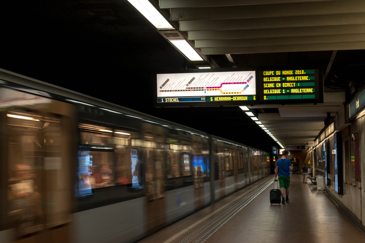 World Cup in the Metro