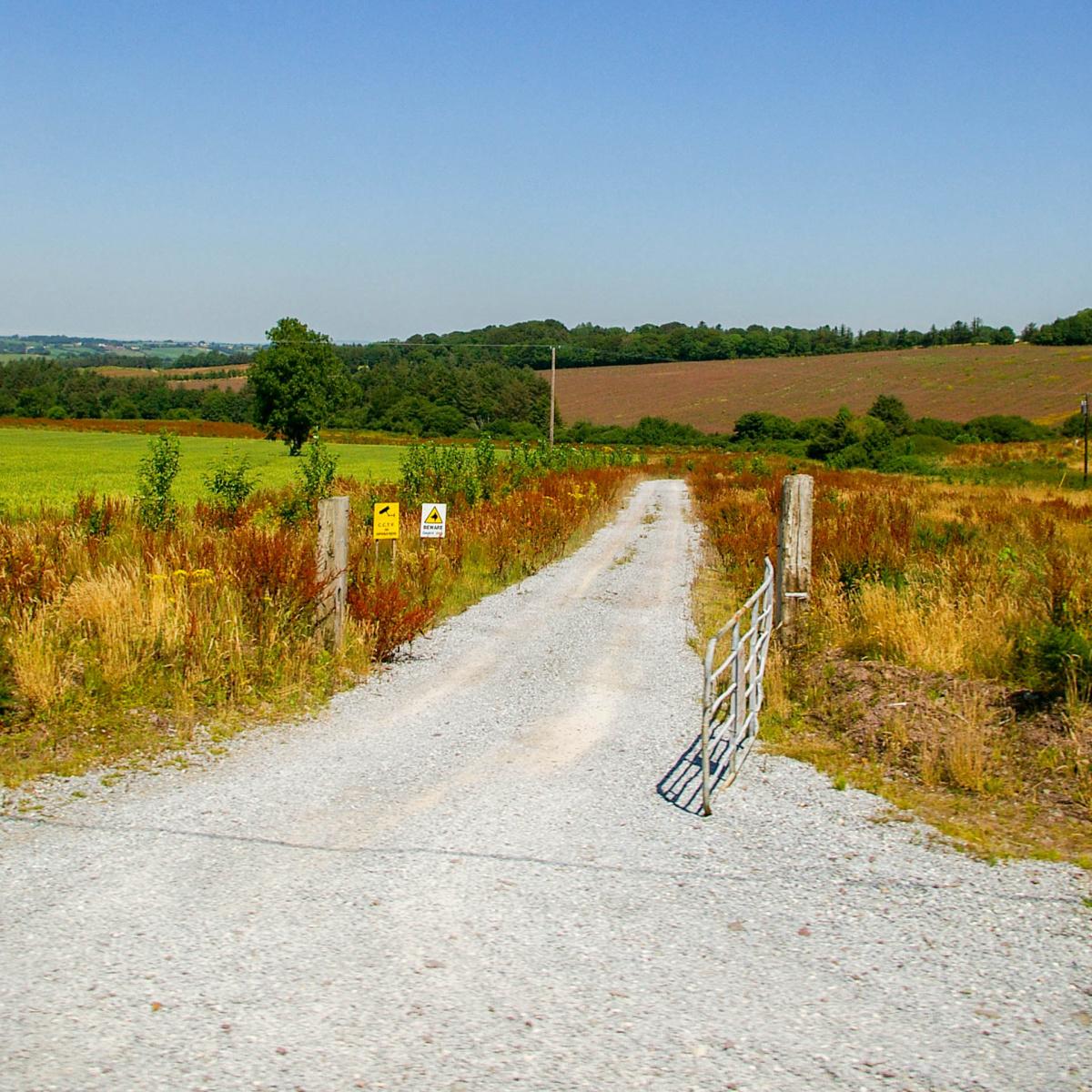 Dusty Irish Road