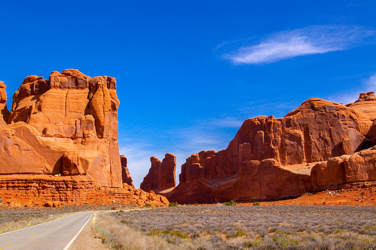 A Road Through Arches