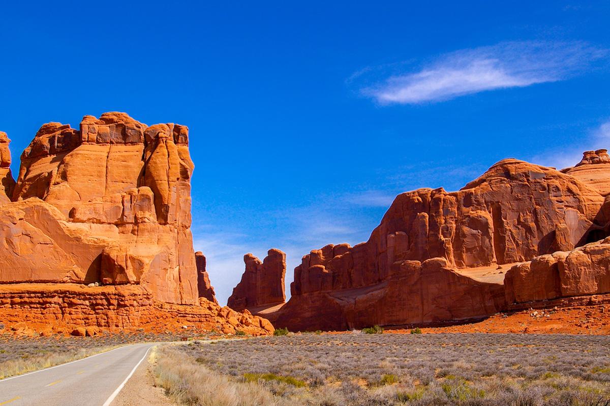 A Road Through Arches