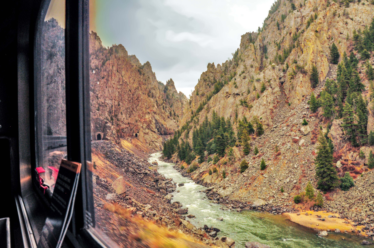 From the Window of the California Zephyr