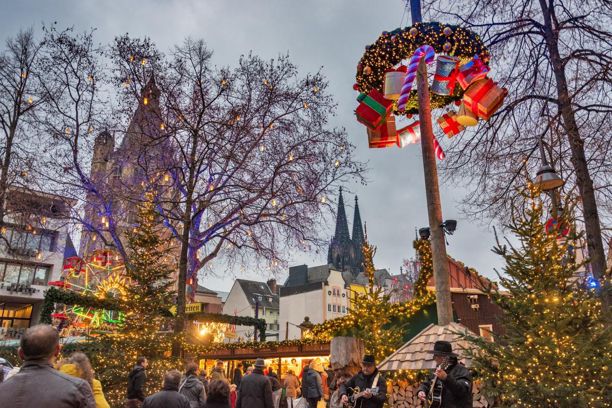 The Christmas Market in Köln