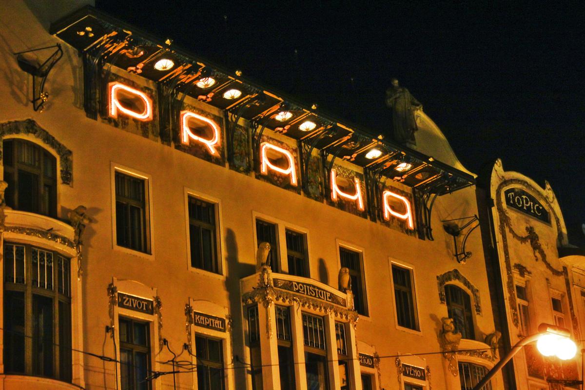 Praha in Lights