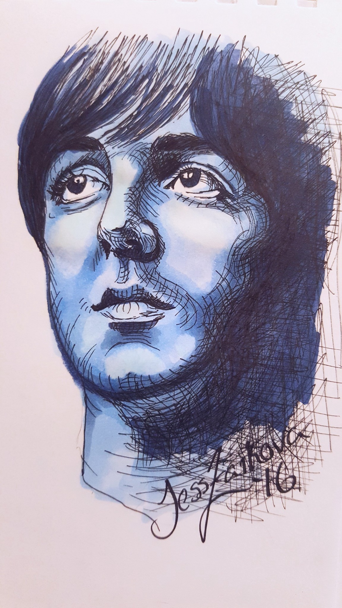 McCartney in Blue