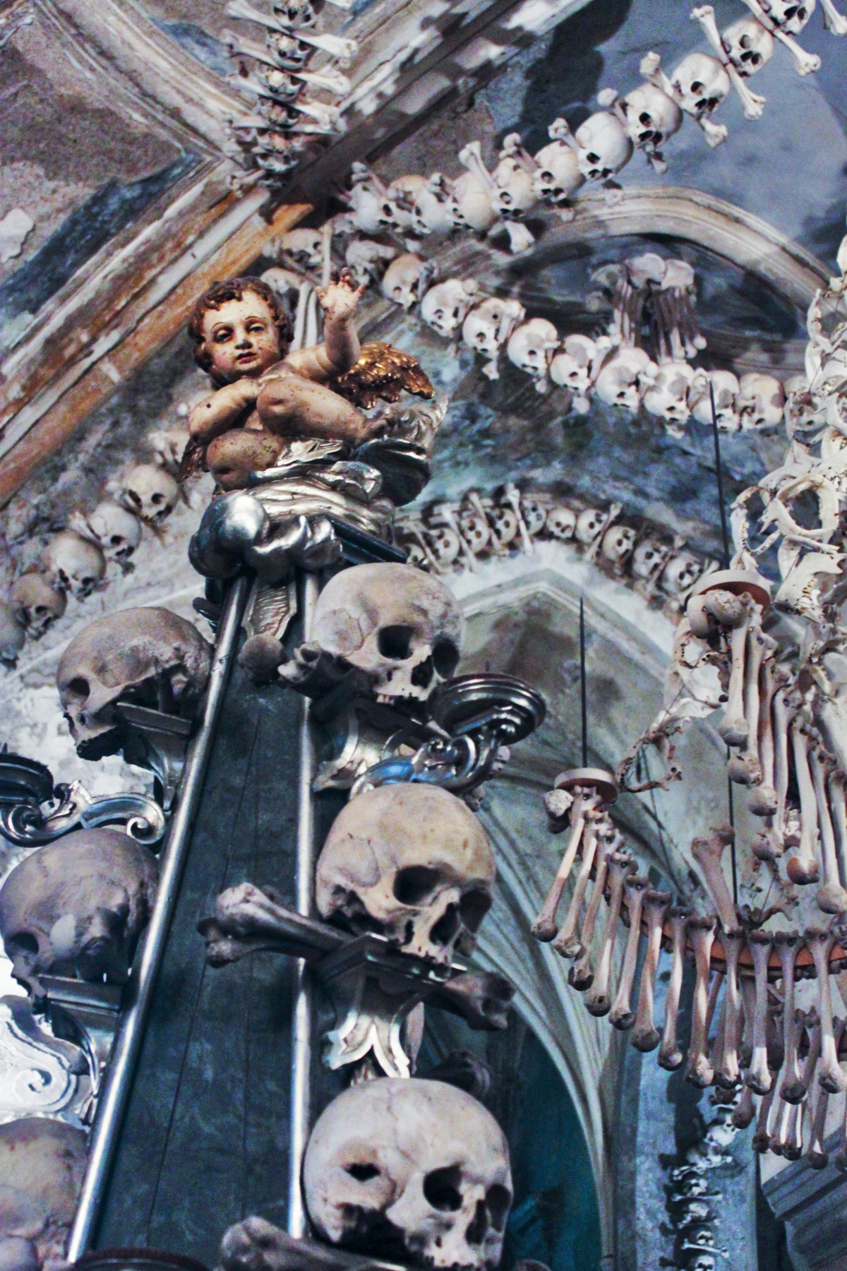 The Cherub Atop the Spire of Skulls