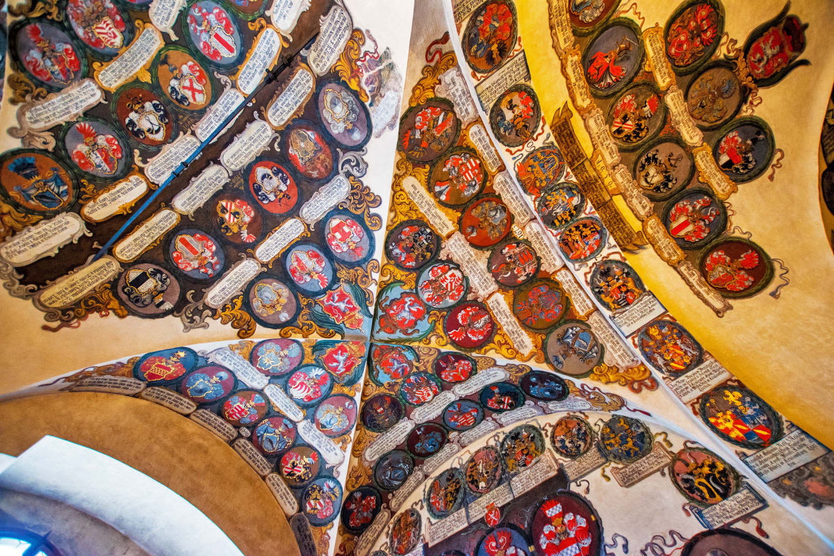 Ceiling in the Castle