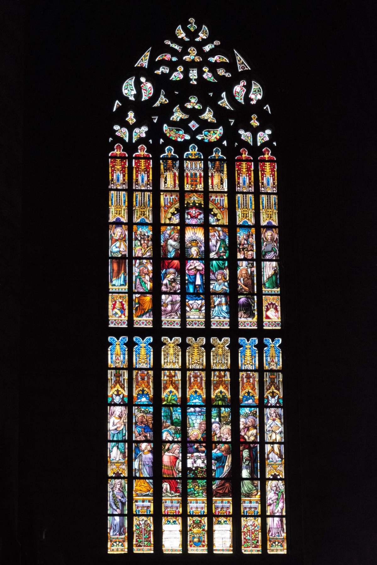 Stained Glass of Saint Bartholomew