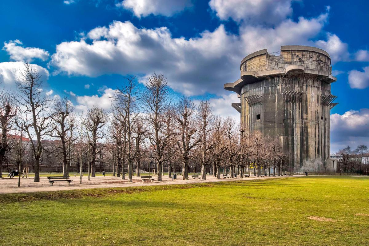 Flak Tower in Vienna