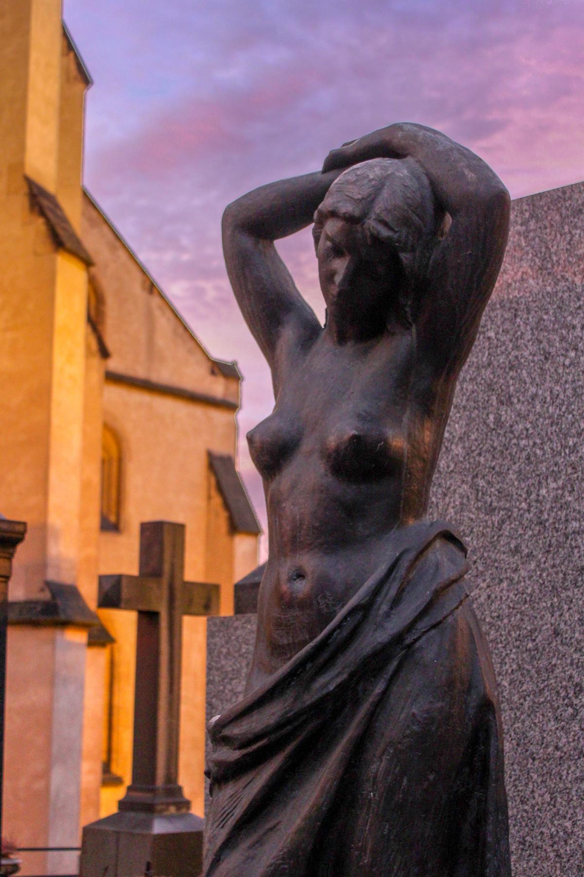 Cemetery Pose