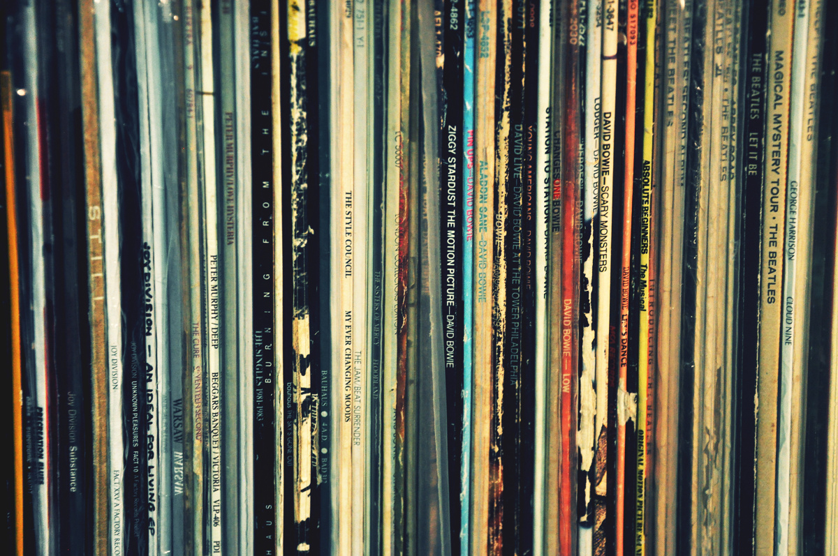 A Favoured Slice of my Record Collection