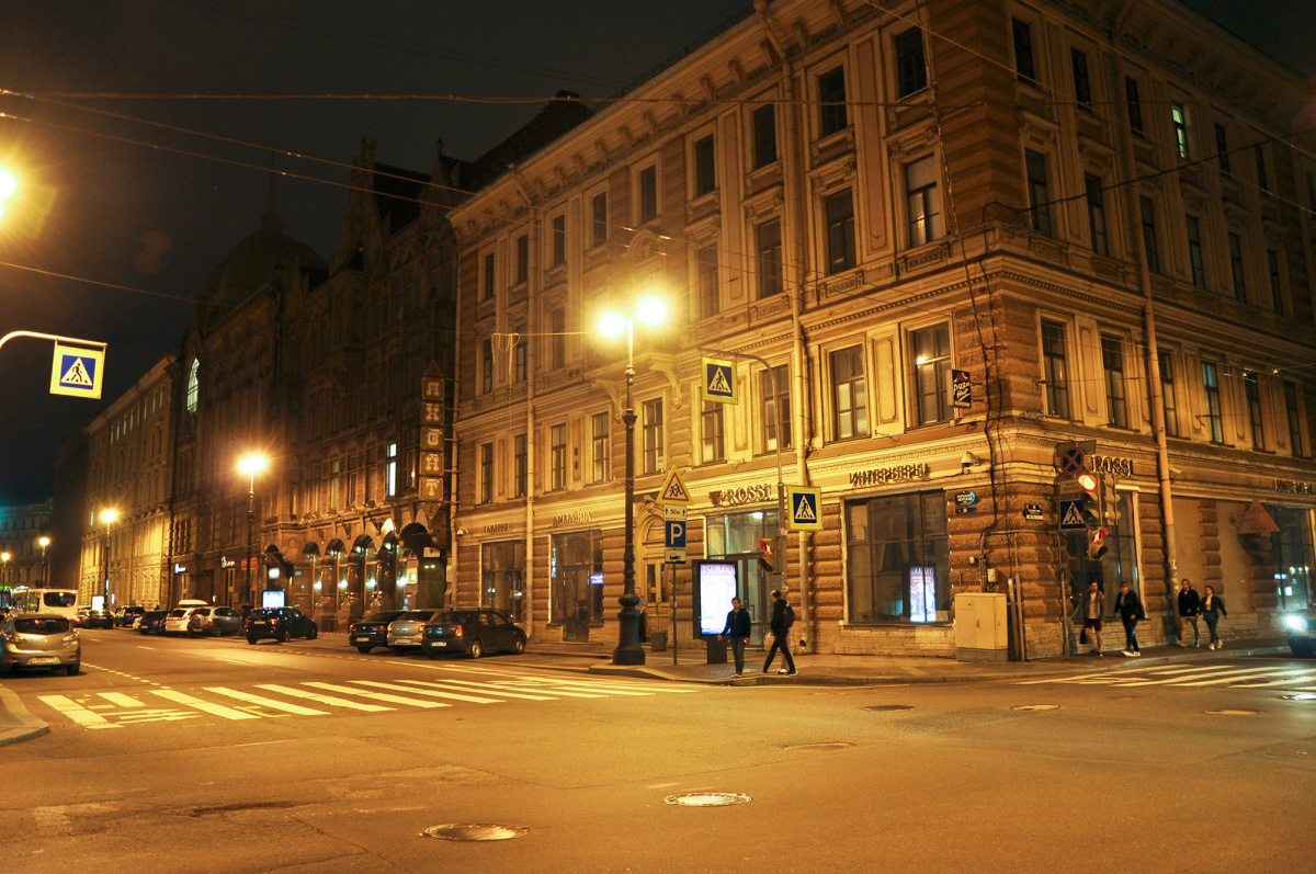 SPb at Night