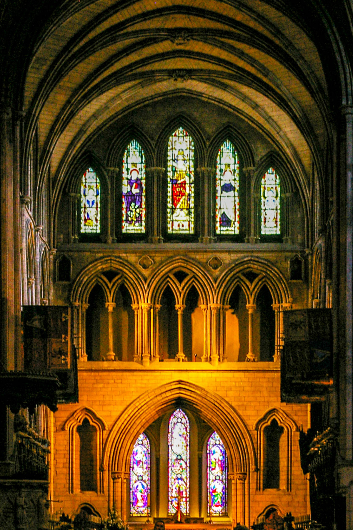Dublin Cathedral Windows