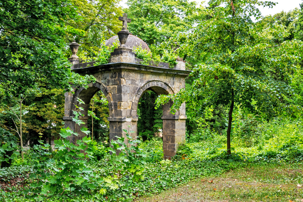 Archway in the Cemetery