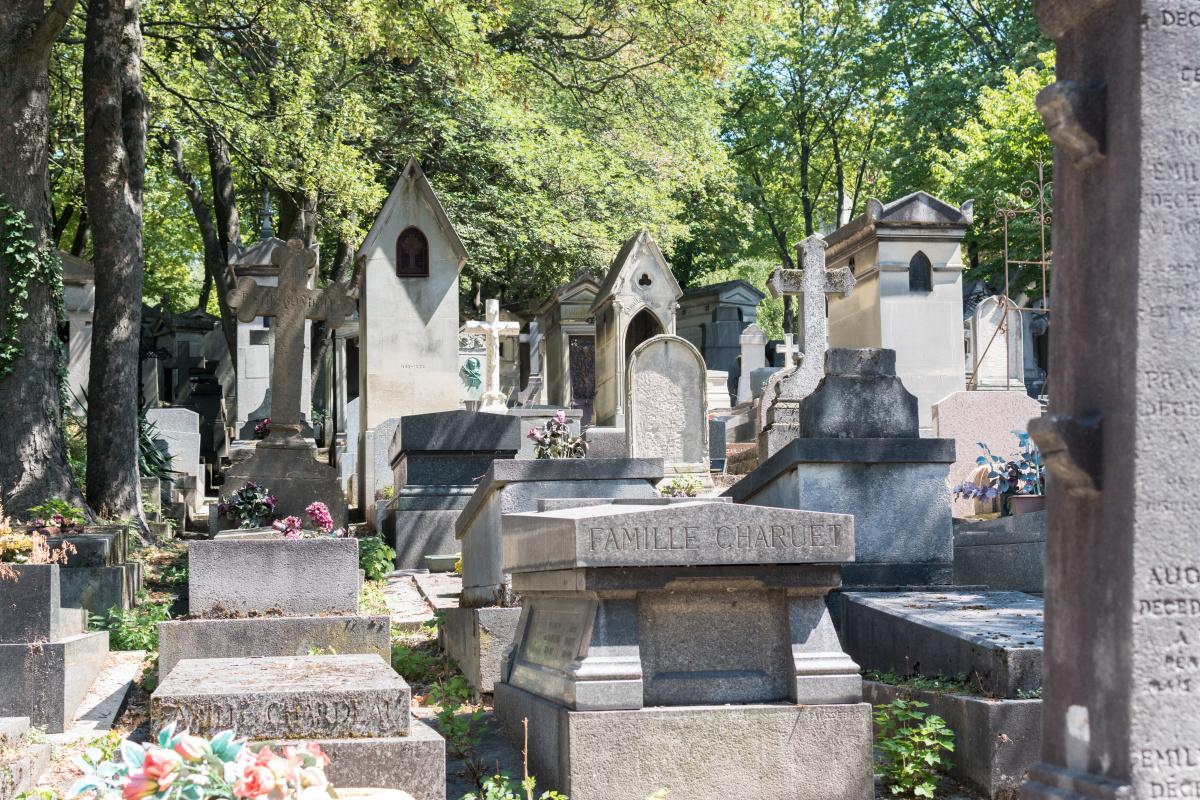 Grave in Père Lachaise