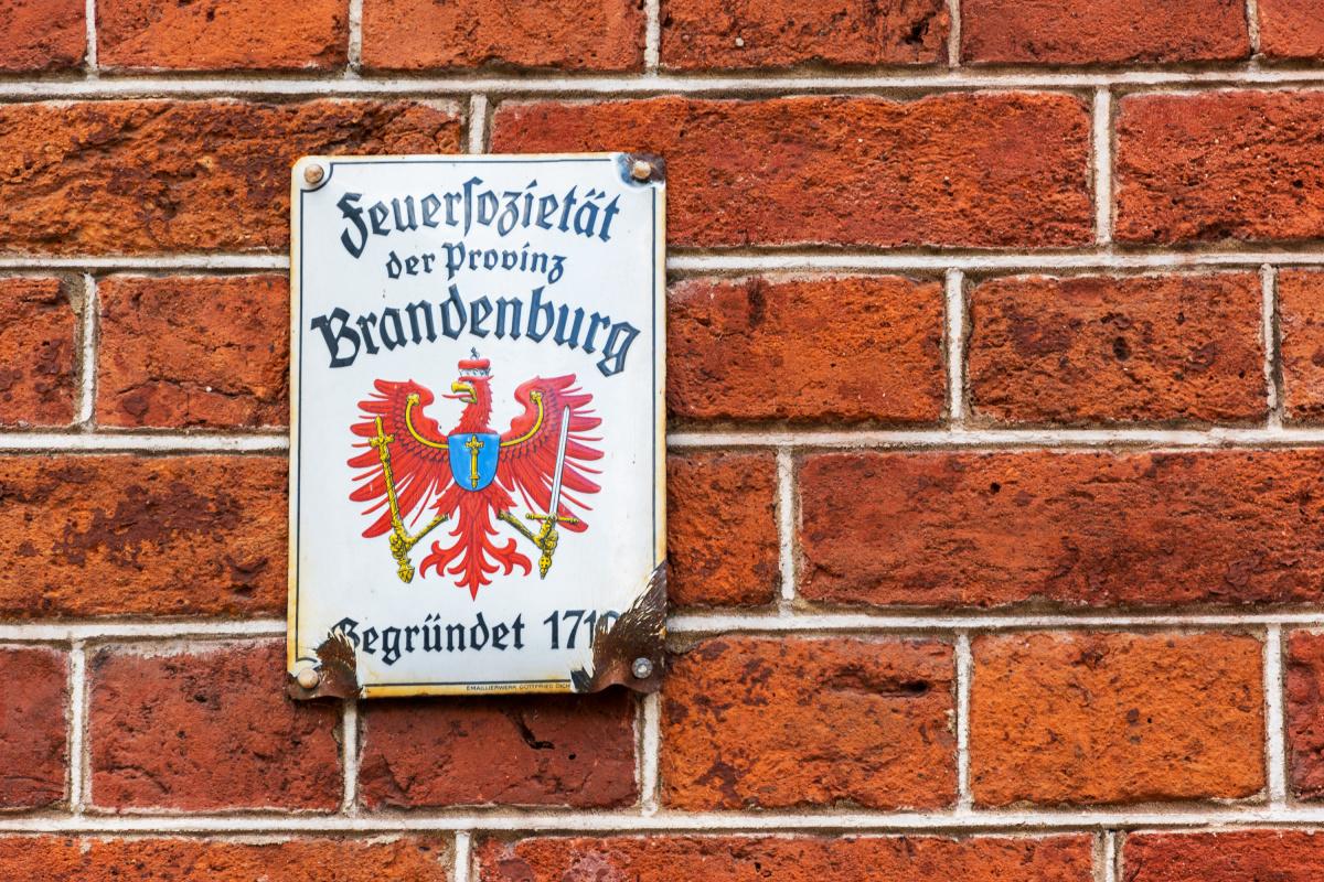 Feuerfozietät der provinz Brandenburg